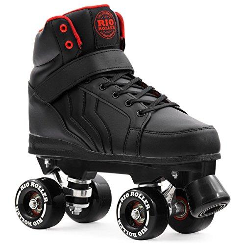Rio Roller Kicks Quads Rollschuhe Disco Roller wei/ß