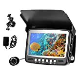 Cámara de Pesca Submarina, BITOWAT Monitor de Pesca, Pantalla Color Alta Definición 4,3 Pulgadas/15m Cable, para Pesca Lago, Barco, Mar, Hielo