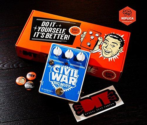 DIYPedalGearParts® Kit Civil War Réplica