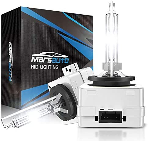 Marsauto D1S HID Bulb 5000K Xenon HID Replacement Bulb Diamond White with Gloves 35W for 12V product image