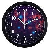 Mariisay Reloj De Pared para Niños Casual Chic 24 5 Cm Reloj De Pared para Niños con Reloj De Pared Silencioso De Relojería Diseño Antiguo De Época Estilo Rústico Moderno De Sala De Estar