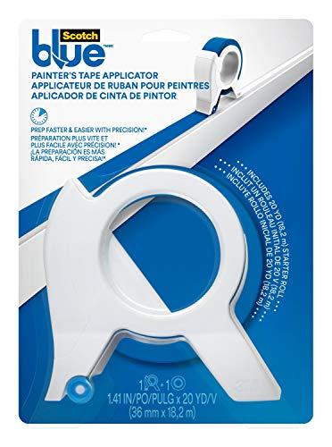 3M TA3-SB-ESF ScotchBlue Painter's Tape Applicator, White