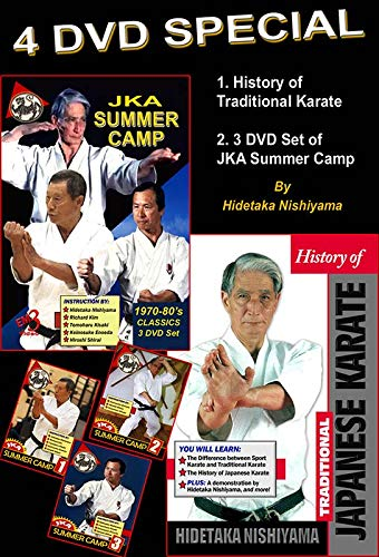 4 DVD Box Shotokan Karate-Do By Hidetaka Nishiyama