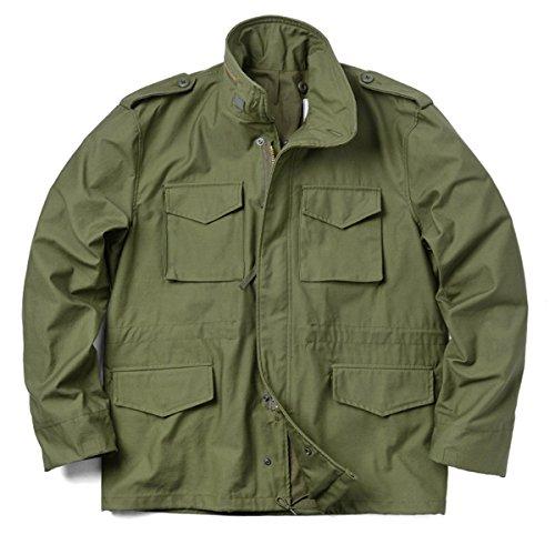 忠実復刻 新品 米軍 M-65フィールドジャケット(M OLIVE DRAB)