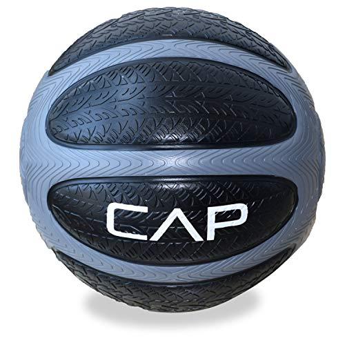 CAP Barbell Medicine Ball (15-Pounds, Gray) (HHKC7-015)