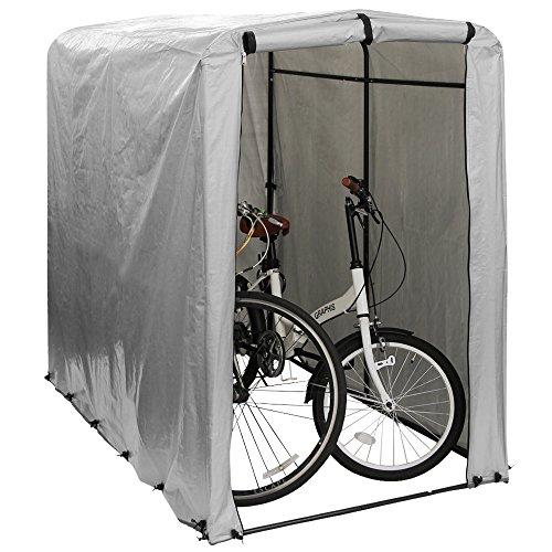 WEIMALL サイクルハウス サイクルポート 自転車 1〜2台 簡易ガレージ 自転車置き場 撥水 UVカット 収納庫