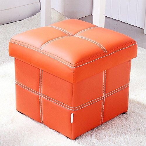 Polsterstühle ZHANGRONG- Stylish Storage Stuhl Barber Shop für Schuhputzer Sofa Hocker (Farbe optional) -Lagerhocker (Farbe : #8)
