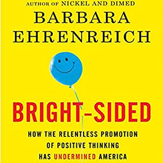 Bright-sided audiobook cover art