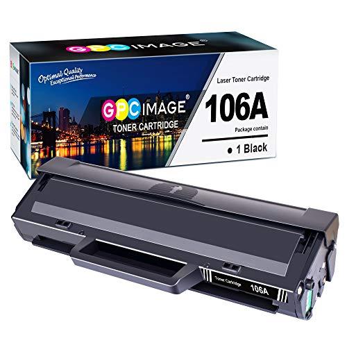 GPC Image 106A Toner (Mit Chip) Kompatibel für HP 106A W1106A für HP Laser 107a 107r 107w MFP 135a 135r 135w 135wg MFP 137fnw 137fwg Druckerpatronen (1 Schwarz)