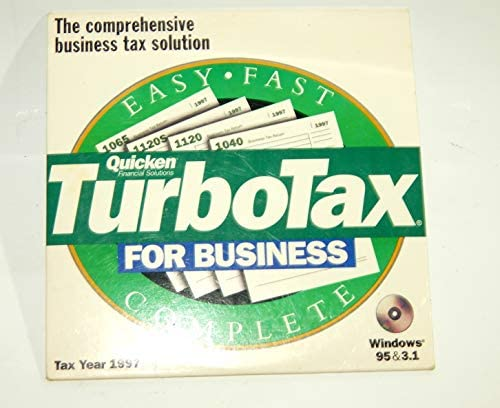 Quicken Turbotax for Business 1997 product image