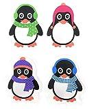 4er Set Taschenwärmer Pinguin (tolles Wichtelgeschenk) Handwärmer,...
