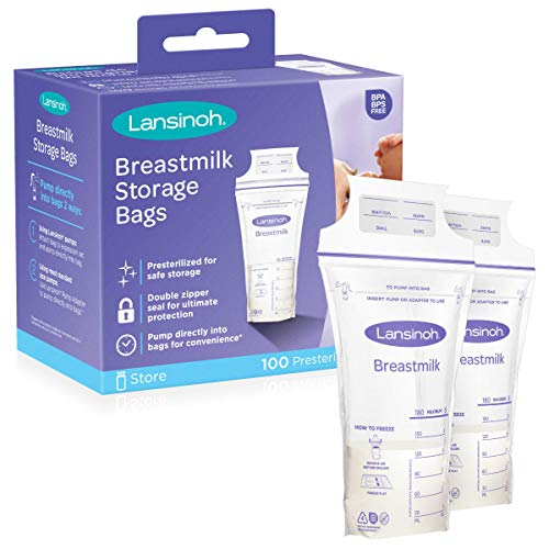 Lansinoh Breastmilk Storage Bags, 100 Count (Baby Product)