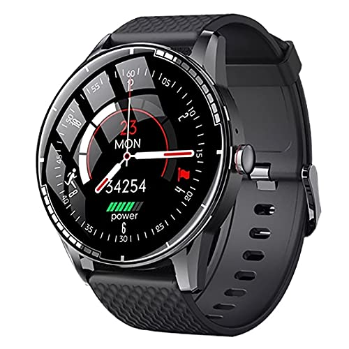 ZGZYL H6 Bluetooth Smart Watch 3D Alta Definición Calidad De Sonido Reloj Deportivo con Oxígeno De Sangre, Presión Arterial Y Monitor De Frecuencia Cardíaca,A