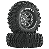 Duratrax Deep Woods CR C3 Mounted 1.9' Crawler Tires, Chrome (2), DTXC4027