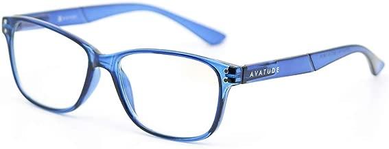AVATUDE™ Blue Light Glasses for Computer Users - Delray (+1.50, Blue)