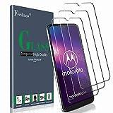 Ferilinso Schutzfolie für Moto G8 Play/Motorola One Macro Panzerglas, [3 Pack] Gehärtetes Glas Bildschirmschutzfolie für Moto G8 Play/Motorola One Macro (Transparent)