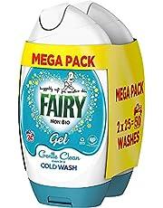Fairy Non Bio Washing Liquid Laundry Detergent Gel, 50 Washes, 925ml, for Sensitive Skin