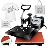 Super Deal PRO 12' X 10' Digital Swing Away Heat Press Heat Transfer Sublimation...