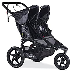 Double Jogging Stroller with Handbrake
