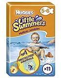 Huggies Little Swimmers - Bañador desechable (bebé de 5 a 6 años) x11 (lote de 2 = 22 camisetas)
