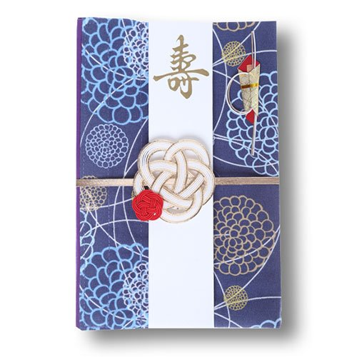 結姫 musubime 巾着袋に変わるご祝儀袋 男性への結婚祝い用 白梅 C-155