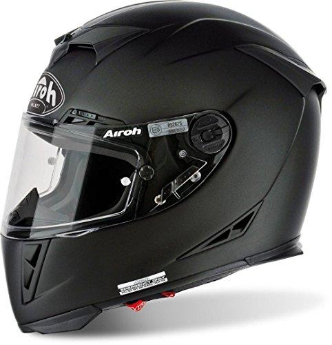 Airoh Motorrad Helm GP-500, Schwarz Matt, 62 cm