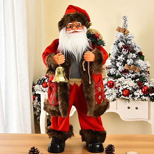GSDJU Muñeca de Navidad, muñeco de elfo, muñeco de nieve, reno, juguete de peluche, decoraciones creativas de Papá Noel, decoraciones navideñas para el hogar feliz año nuevo