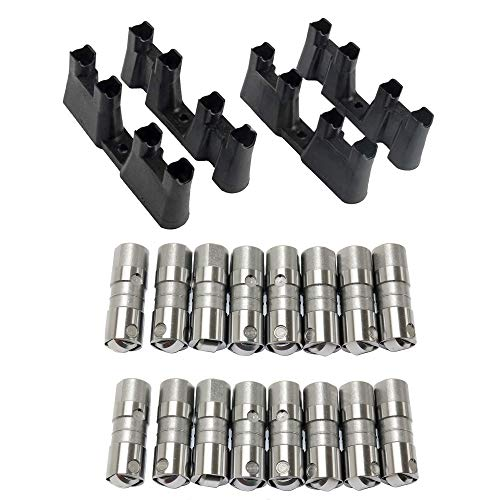 Motorhot Hydraulic Roller Lifter Fit For 1999 2000 2001 2002 2003 2004 2005 2006 2007 2008 2009 GMC 1997-2013 Chevrolet 1998-2009 Pontiac 2002-2007 Cadillac 5.3L 6.0L