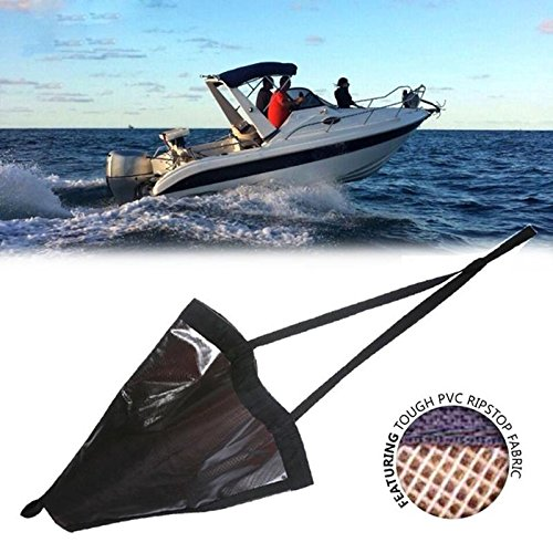 ZREAL Heavy Duty PVC Sea Anchor Drogue Segel Driften Brems Socke Fallschirm Bremse Zubehör Anzug Boot