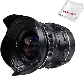 PERGEAR 12mm F2 広角マニュアルフォーカス単焦点レンズ APS-C ソニー Eマウントカメラ対応 NEX-5NEX-C3 NEX-5N NEX-7 NEX-F3 NEX-5R NEX-3N NEX-5T A3000 A5000 A...