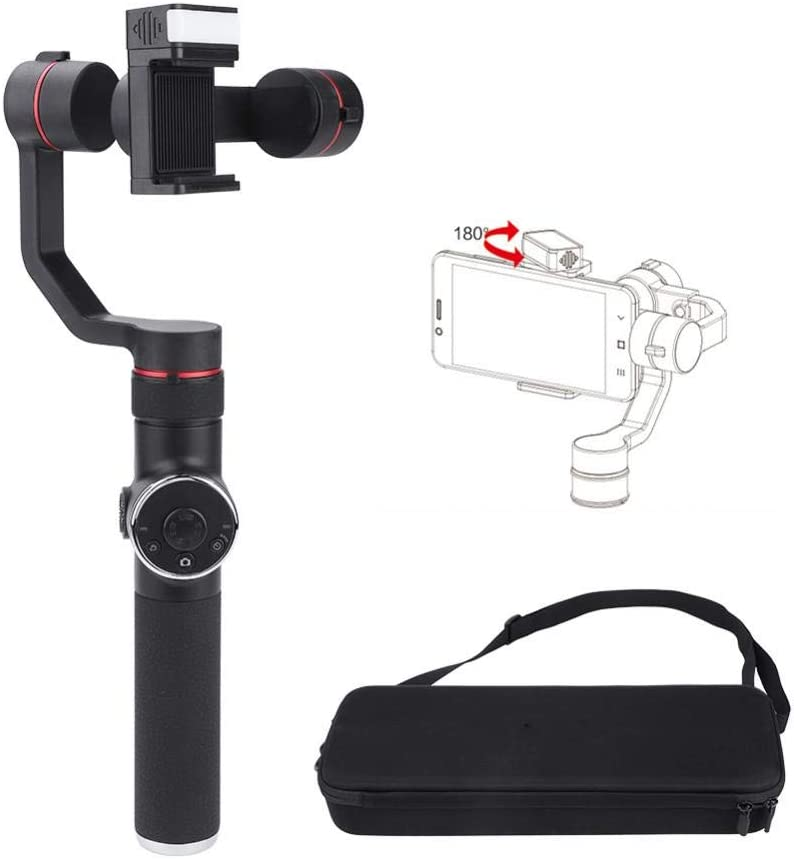 Qiter Lightweight Handheld price Gimbal with Flash Holder New arrival Stabilizer V