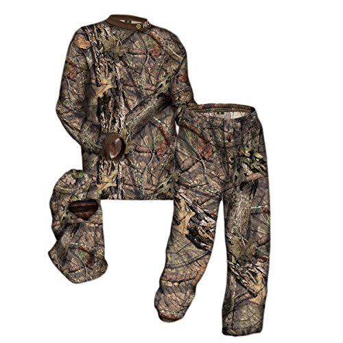 HECS Hunting 3-Piece Camo Suit - Hunting Apparel for Men - Mossy Oak Break-Up...