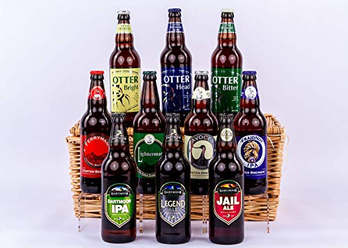 The Devon Ten Ales Hamper - Standard Box