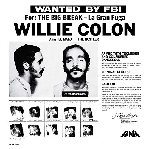 Wanted By The Fbi/The Big Break (La Gran Fuga) [VINYL] [Vinilo]