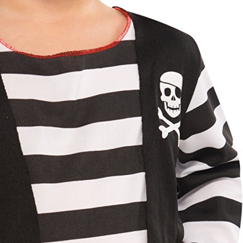 Amscan Children Rascal Deckhand Pirate Costume (4-6 Years)