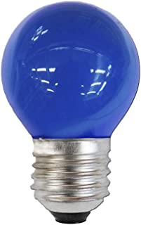Spectrum 35152 Bombilla Esferica E27, Azul