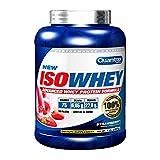 Quamtrax Proteina Iso whey sabor leche merengada (vainilla y canela) -2270 gr 75 servicios