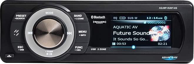 Aquatic AV AQ-MP-5UBT-HS SiriusXM Harley-Davidson Waterproof Stereo, 3