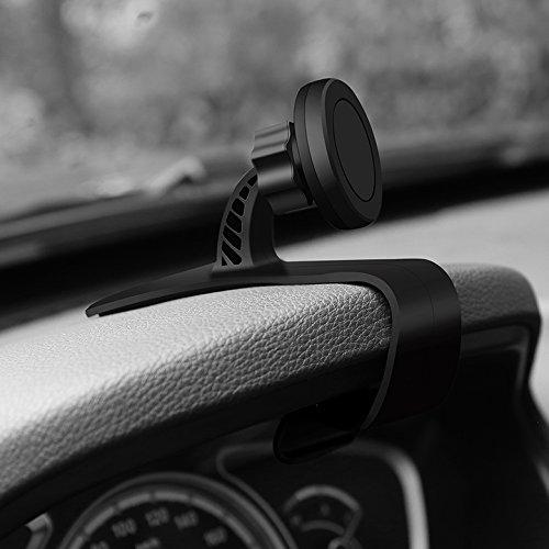 Preisvergleich Produktbild Alamor Universal Einstellbar Dashboard Autotelefonhalter Magnethalterung Clip Ständer Für Samsung Xiaomi - Round
