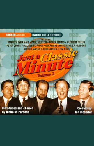Just a Classic Minute, Volume 2 cover art
