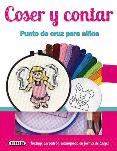 Coser y contar. Punto de cruz para niños (Pequeños artistas)