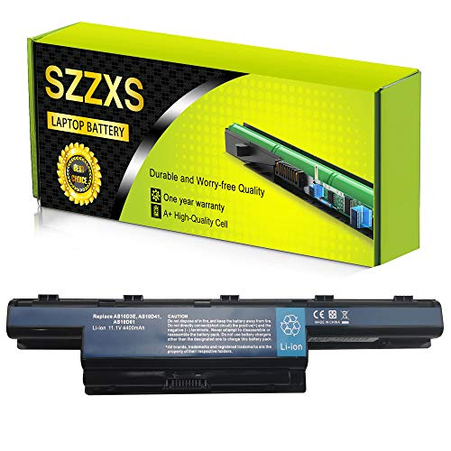 Sustituye a batería de portátil AS10D3E AS10D31 AS10D41 AS10D61 AS10D71 AS10D81 para Acer Aspire 4250G 4350G 5741G/TravelMate/Emachines/Packard Bell Series【11,1 V, 4400 mAh】