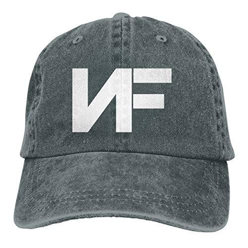 Verstellbar Damen Herren Nf Rapper Logo (2) Baseball Hat Cap Baseballcap Kappe Flatbrim Mütze Für Jungen Mädchen