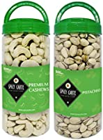 Spicy Carte Dry Fruits Combo Pack - Cashew Nut & Pistachios, 1Kg