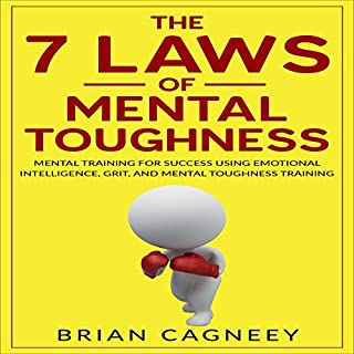 The 7 Laws of Mental Toughness audiobook cover art
