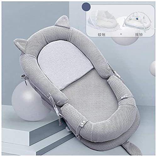 angelHJQ Tumbona para bebé recién nacido nido de algodón suave cuna portátil cuna cuna cuna cuna cojín para dormitorio viaje