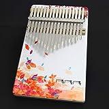 LITONGFU Piano de Dedo Colorido 17 Teclas de Madera portátil Piano de Dedo Principiantes Profesional Pintado