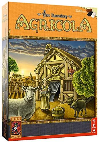 999 Games 999-Agr01B Agricola Bordspel Bordspel, Multikleur