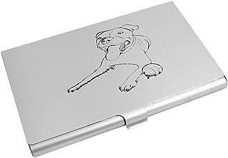 Azeeda 'Staffordshire Bull Terrier' Business Card Holder / Credit Card Wallet (CH00001061)