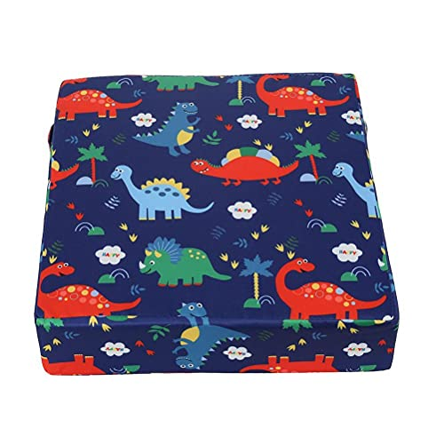 SUPYINI Booster Seat for Children, Seat Booster Chair, Children's Seat Booster Chair, Baby Seat Cushion Cartoon Design, Adjustable, Dismountable, Washable, Portable Seat Cushion